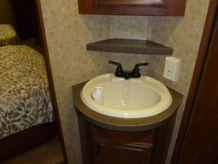 Camper Bathroom Sink